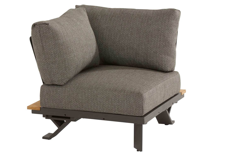4 Seasons Outdoor Divine platform corner with 3 cushions