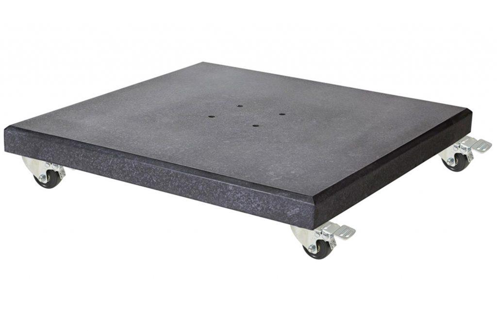 Platinum Modena parasolvoet 90 kg verrijdbaar