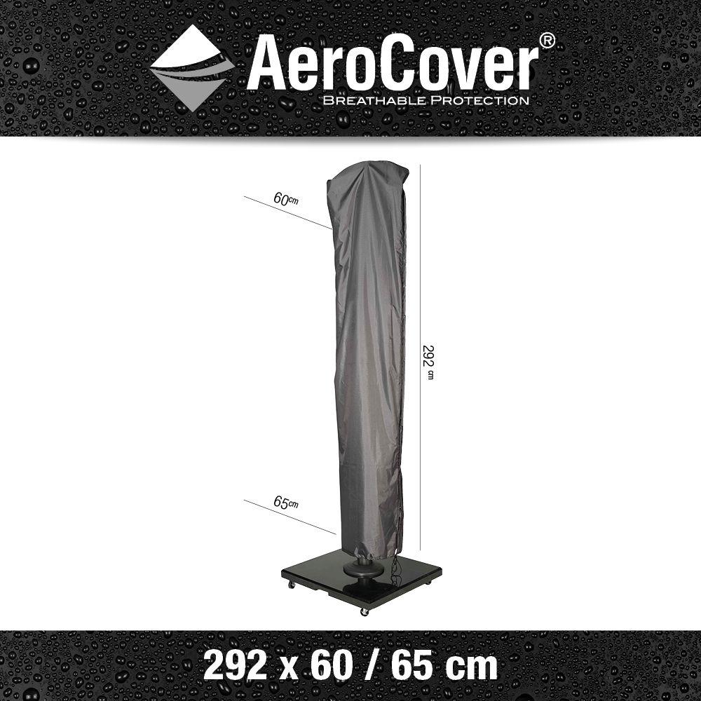 Aerocover vrijhangende parasolhoes H292x60/65 voor Challenger 400 x 300