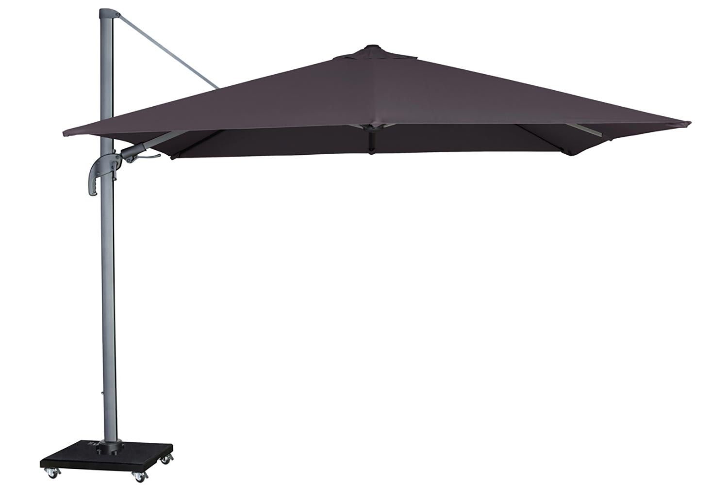 Garden Collections Alegria zweefparasol 300 x 300 antracite