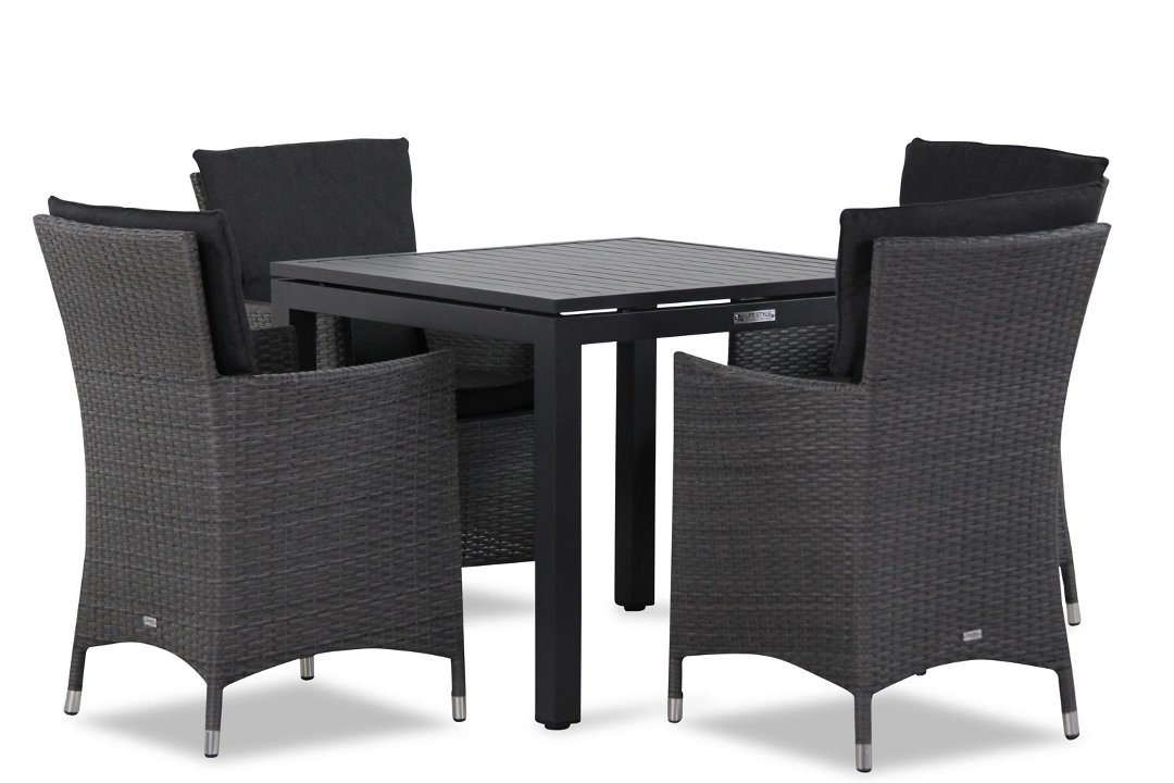 Wicker Garden Collections Orlando/Concept 90 cm dining tuinset 5-delig