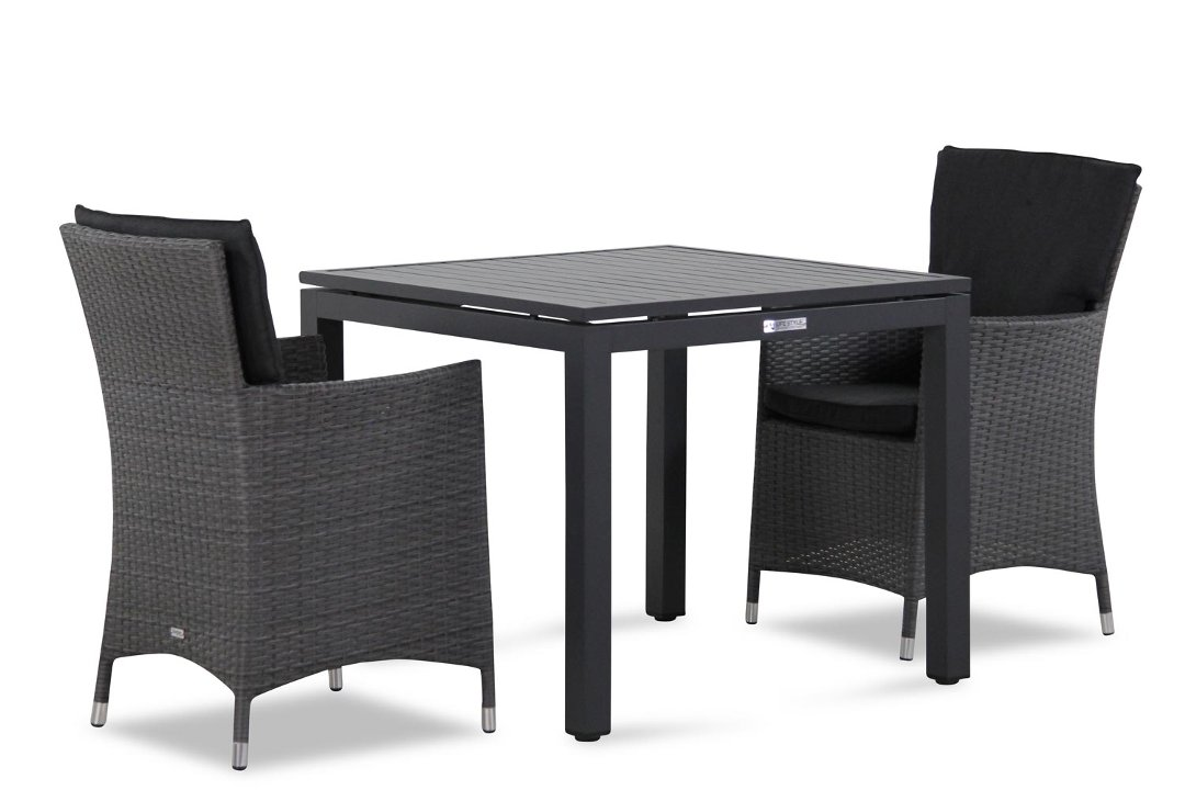 Wicker Garden Collections Orlando/Concept 90 cm dining tuinset 3-delig