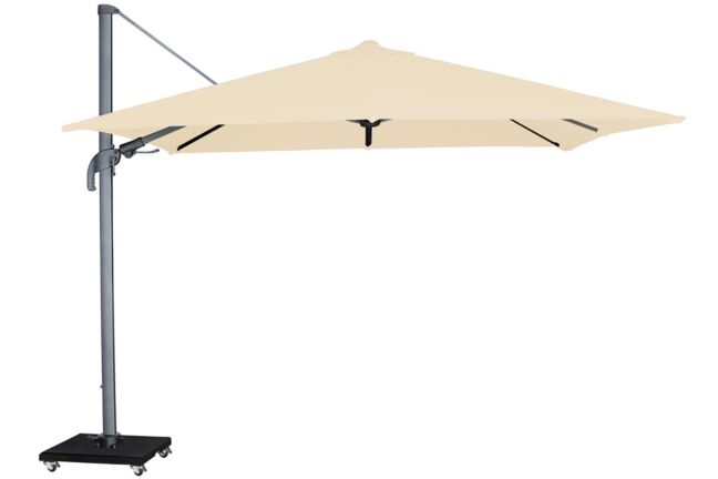 Garden Collections Alegria zweefparasol 300 x 300 white