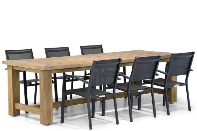 Lifestyle Amarilla/Fourmile 260 cm dining tuinset 7-delig stapelbaar