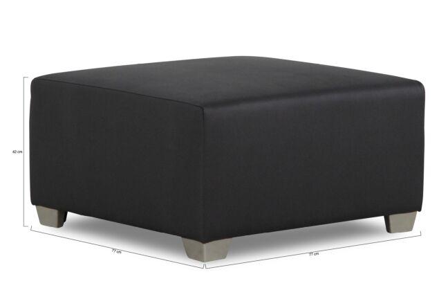 Lifestyle Amazone lounge voetenbank 77 x 77 cm