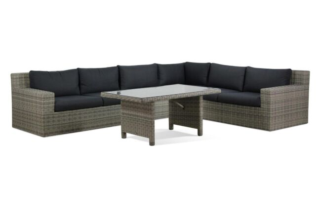 Garden Collections Amico/Napoli dining loungeset 5-delig