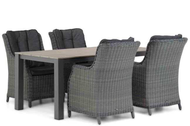 Garden Collections Buckingham/Valley 180 cm dining tuinset 5-delig