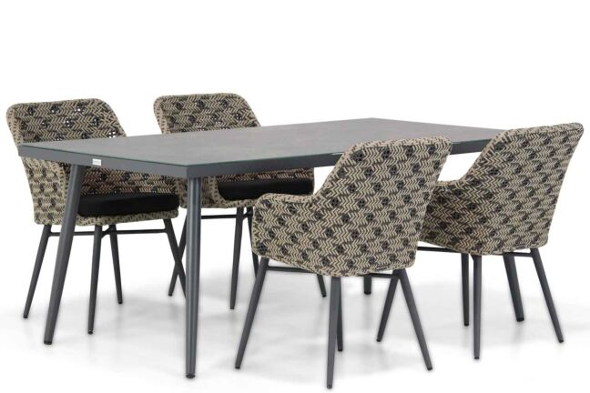 Lifestyle Crossway/Sophia 180 cm dining tuinset 5-delig