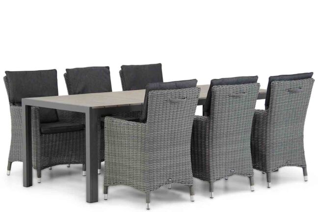 Garden Collections Springfield/Young 217 cm dining tuinset 7-delig