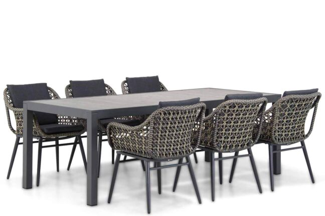Lifestyle Dolphin/Residence 220 cm dining tuinset 7-delig