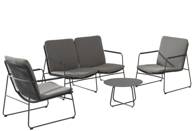 4 Seasons Outdoor Elba/Dali stoel-bank loungeset 5-delig