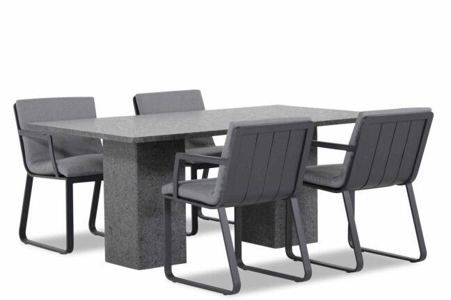 Lifestyle Estancia/Graniet 180 cm dining tuinset 5-delig