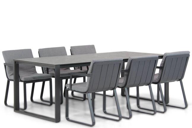 Lifestyle Estancia/Zaga 220 cm dining tuinset 7-delig