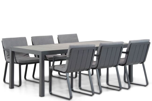 Lifestyle Estancia/Residence 220 cm dining tuinset 7-delig