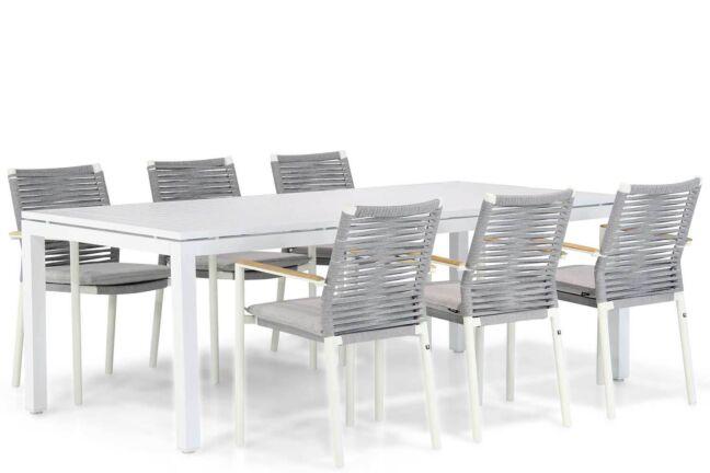 Santika Giovane/Concept 220 cm dining tuinset 7-delig