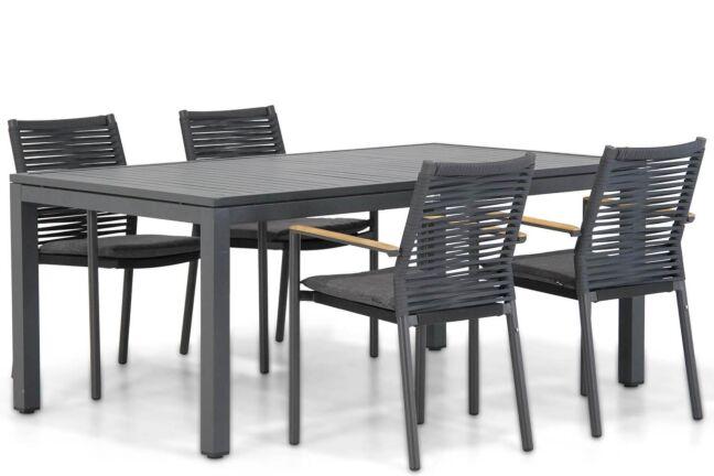 Santika Giovane/Concept 180 cm dining tuinset 5-delig