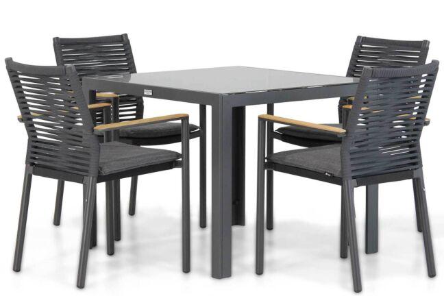 Santika Giovane/Mondello 90 cm dining tuinset 5-delig