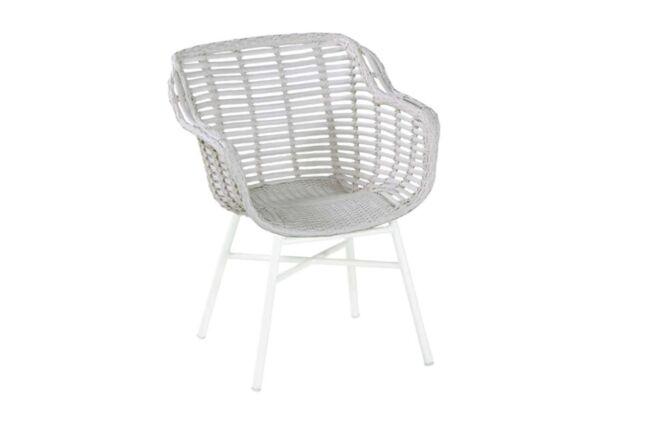 Hartman Cecilia Dining chair aluminium White