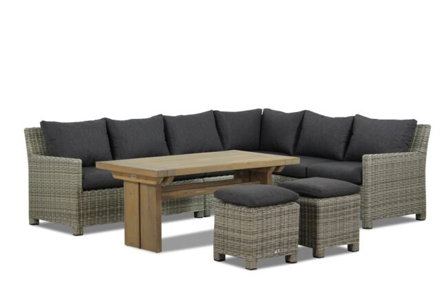 Garden Collections Lusso/Brighton dining loungeset 7-delig