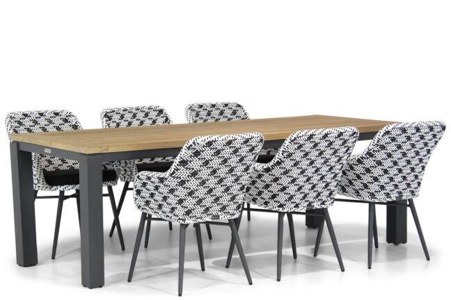 Lifestyle Crossway/Veneto 230 cm dining tuinset 7-delig