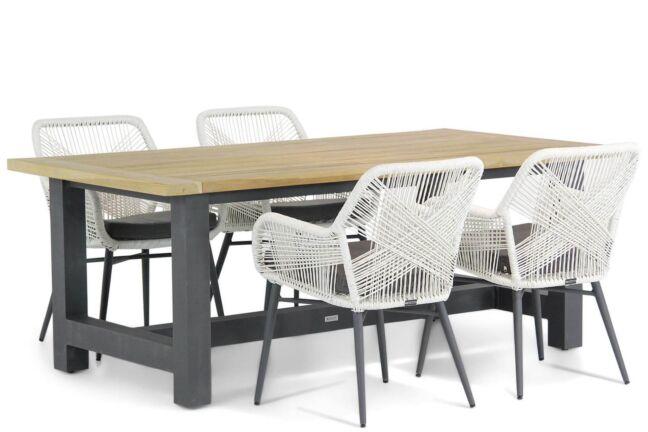 Lifestyle Advance/San Francisco 200 cm dining tuinset 5-delig