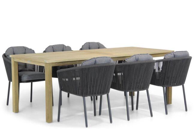 Santika Novita/Weston 210 cm dining tuinset 7-delig