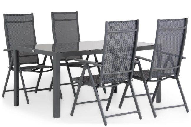Domani Sortino/Mondello 160 cm dining tuinset 5-delig