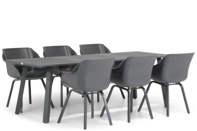Hartman Sophie element/Villagio 230 cm dining tuinset 7-delig
