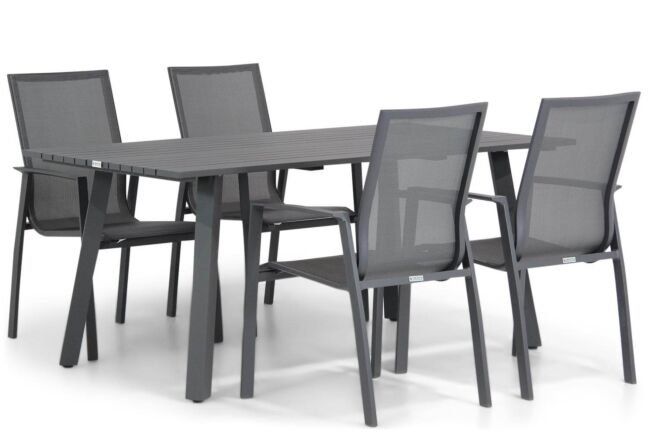 Lifestyle Ultimate/Villagio 170 cm dining tuinset 5-delig