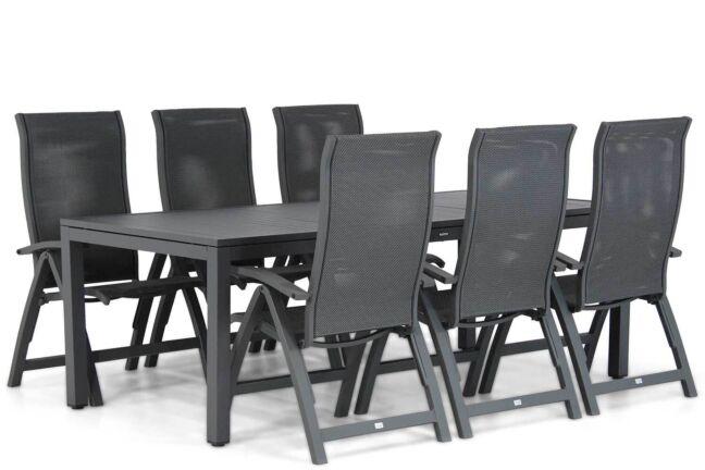 Presto Tarenta/Concept 220 cm dining tuinset 7-delig
