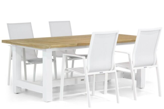 Lifestyle Ultimate/Los Angeles 200 cm dining tuinset 5-delig