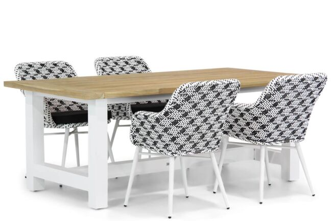 Lifestyle Crossway/Los Angeles 200 cm dining tuinset 5-delig