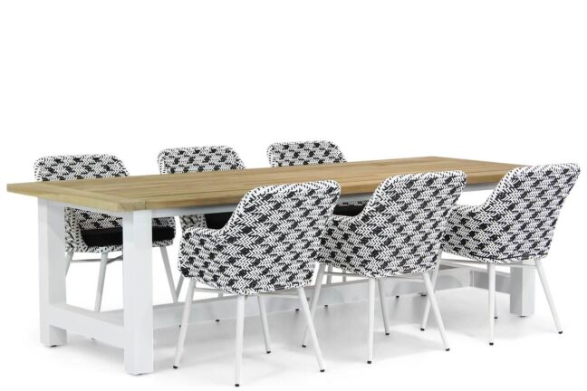 Lifestyle Crossway/Los Angeles 260 cm dining tuinset 7-delig
