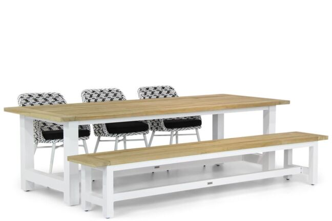 Lifestyle Crossway/Los Angeles 260 cm dining tuinset 5-delig