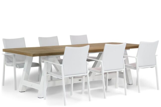 Lifestyle Rome/Florence 260 cm dining tuinset 7-delig