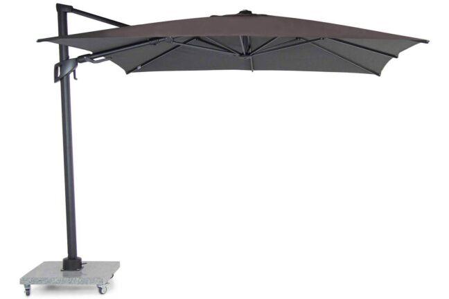 Santika Belize Deluxe parasol 300x300 antraciet frame/dark grey