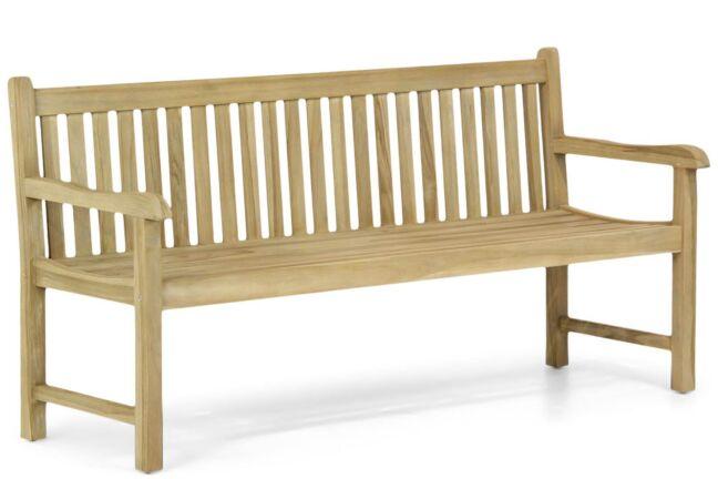 Garden Collections Preston houten tuinbank teak 180 cm