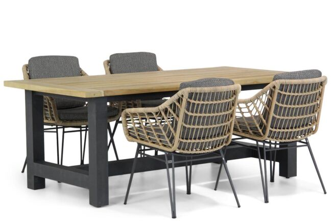 4 Seasons Outdoor Cottage/San Francisco 200 cm dining tuinset 5-delig