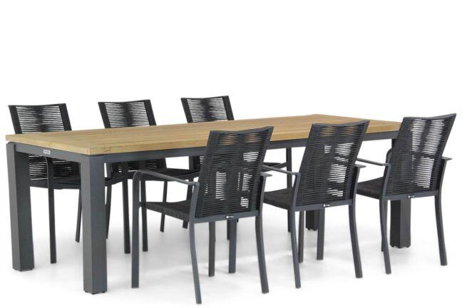 Santika Annisa/Veneto 230 cm dining tuinset 7-delig