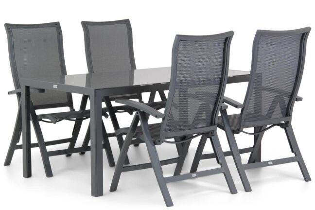 Presto Lucardo/Mondello 160 cm dining tuinset 5-delig