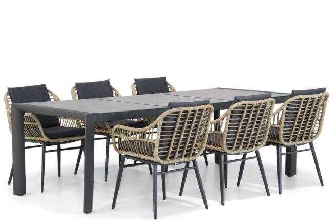 Coco Leonardo/Lido 240 cm dining tuinset 7-delig