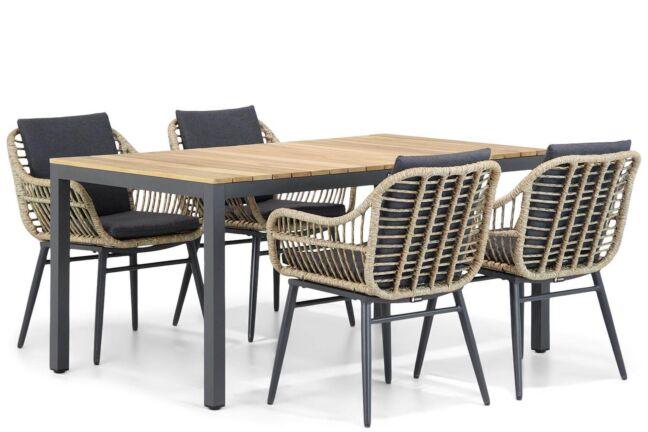 Coco Leonardo/Mazzarino 160 cm dining tuinset 5-delig