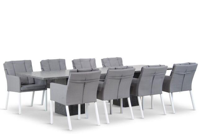 Lifestyle Parma/Graniet 300 cm dining tuinset 9-delig