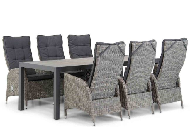 Garden Collections Lincoln/Residence 220 cm dining tuinset 7-delig