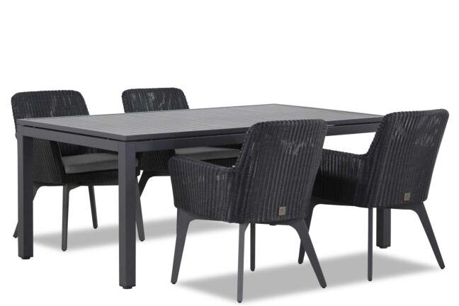 4 Seasons Outdoor Lisboa/Concept 180 cm dining tuinset 5-delig