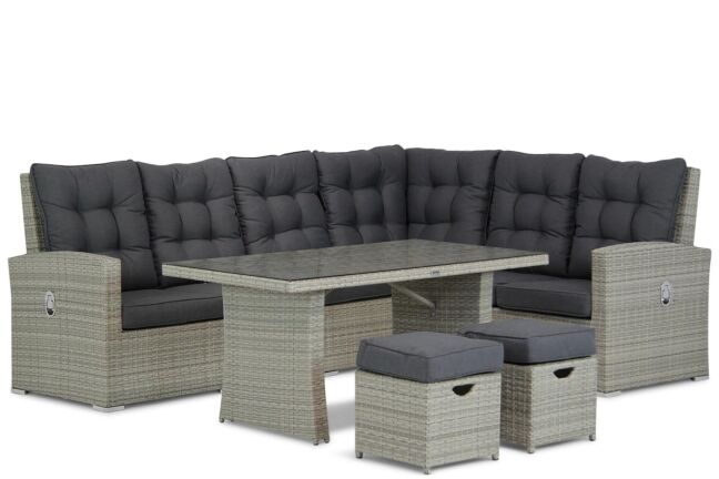 Garden Collections Sheffield dining loungeset 7-delig