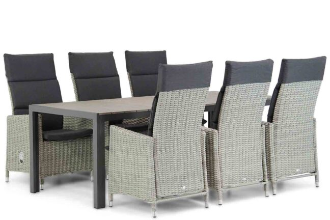Garden Collections Madera/Young 217 cm dining tuinset 7-delig