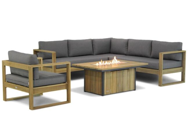 Lifestyle Marriott/Seaside 120 cm hoek loungeset 5-delig