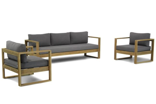 Lifestyle Marriott stoel-bank loungeset 3-delig