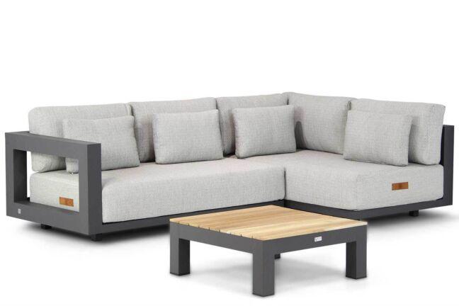 4 Seasons Outdoor Metropolitan/Ravalla 76 cm hoek loungeset 3-delig